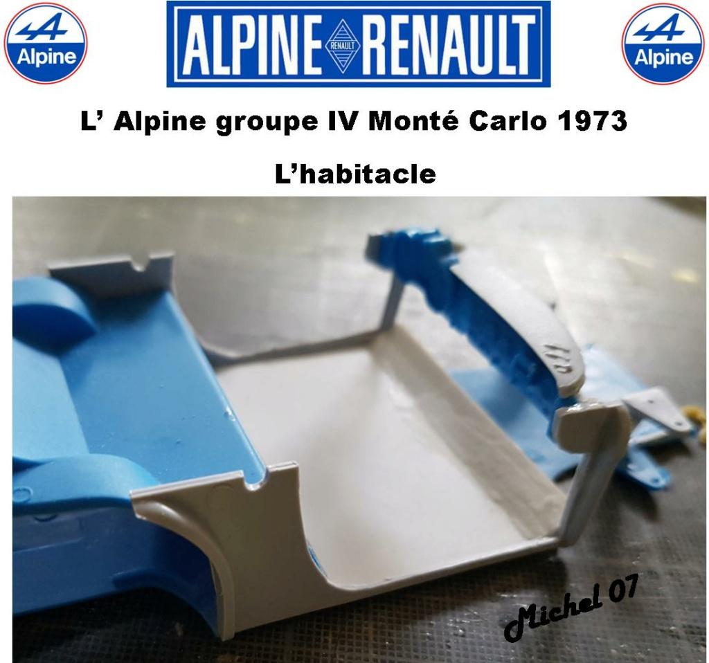 Fil rouge 2021 * Alpine A110 Groupe IV Monté Carlo 1973 1/24 Heller 80745 diorama assistance 13_210