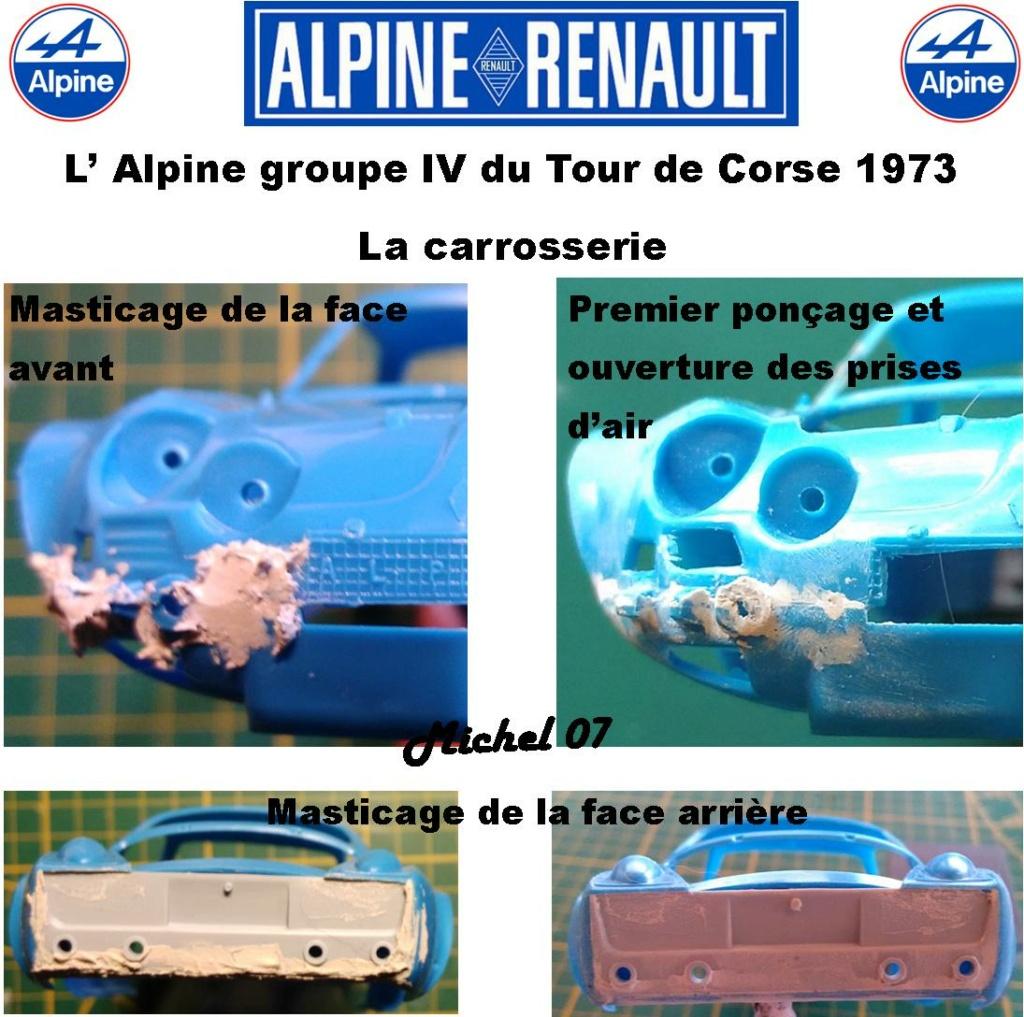 Fil rouge 2021 * Alpine A110 Groupe IV Tour de Corse 1973  1/24 Heller 80745  - Page 2 1414