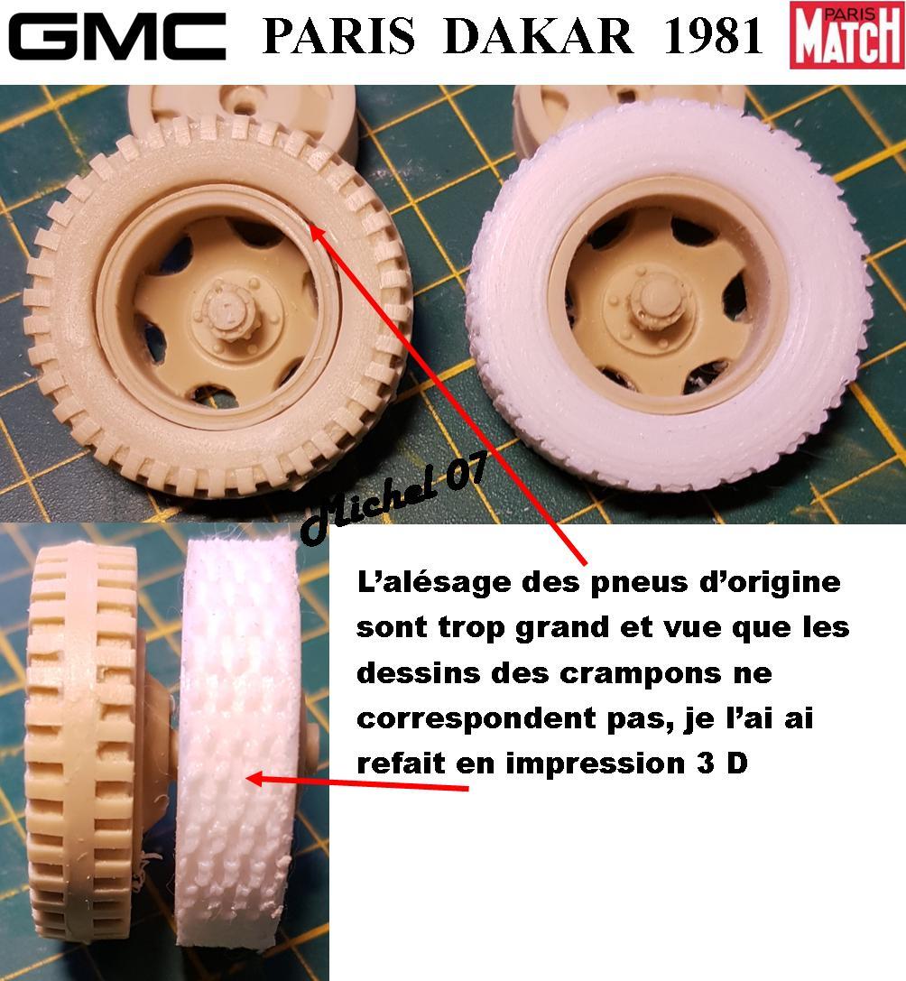 GMC CCKW Paris Dakar 1981 1/24 1415