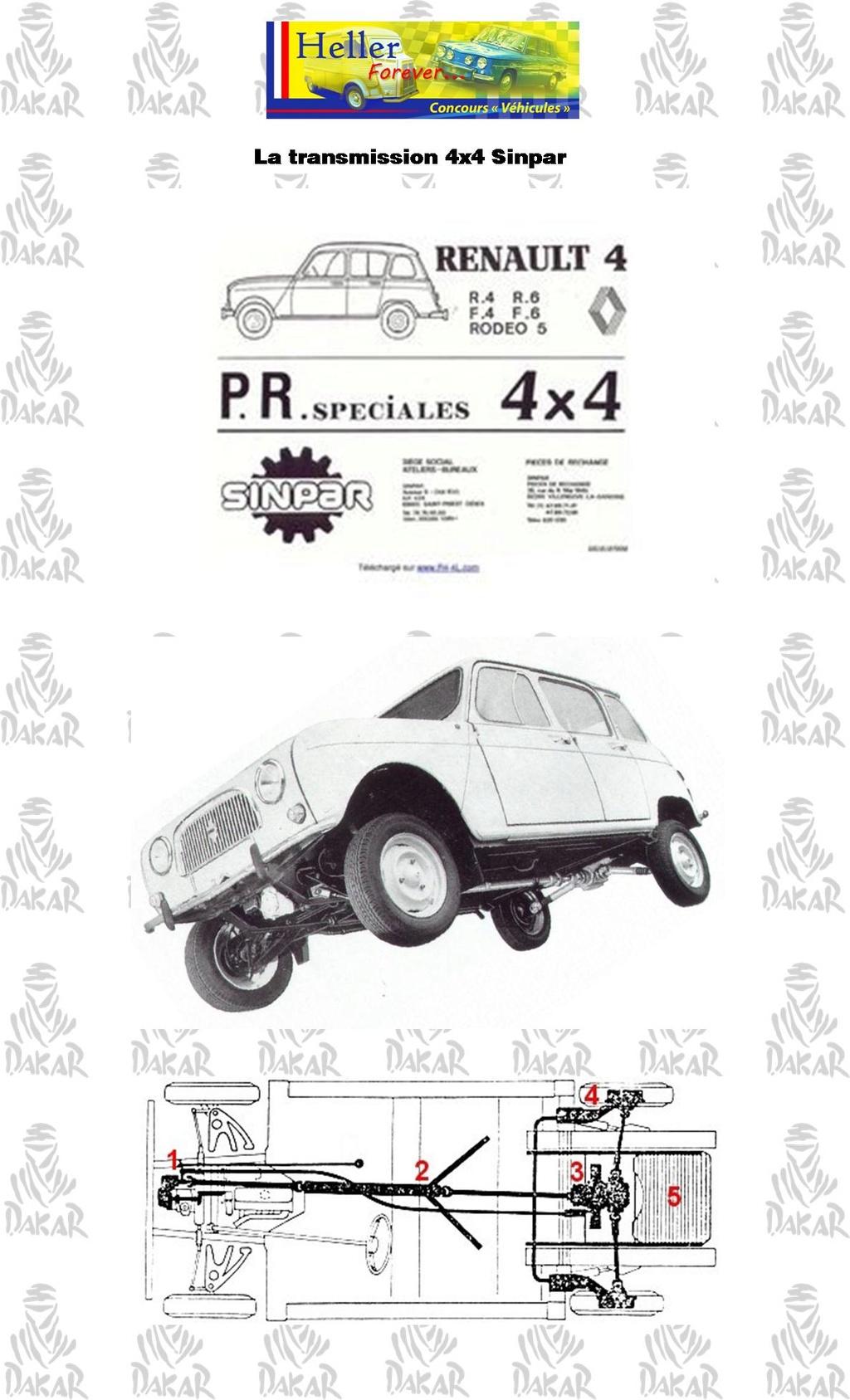 [1/24]Renault 4 l dakar 1980 Ref 80759 1510