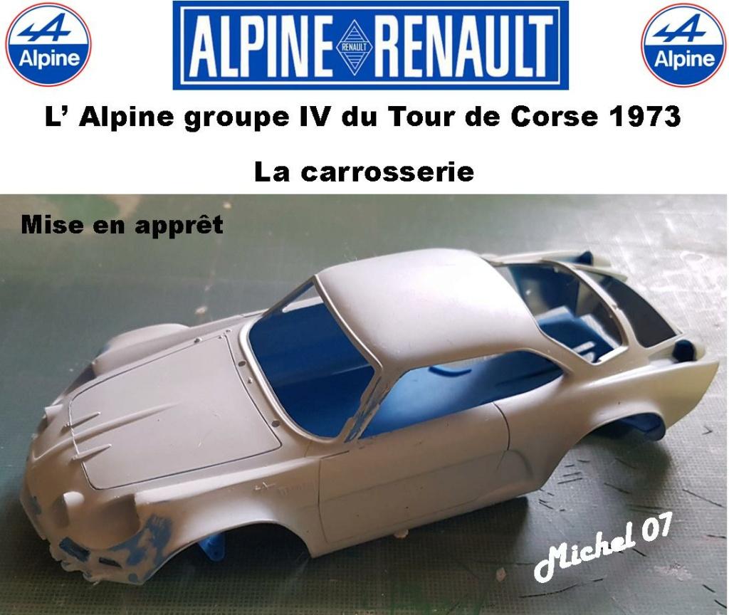 Fil rouge 2021 * Alpine A110 Groupe IV Tour de Corse 1973  1/24 Heller 80745  - Page 2 1515