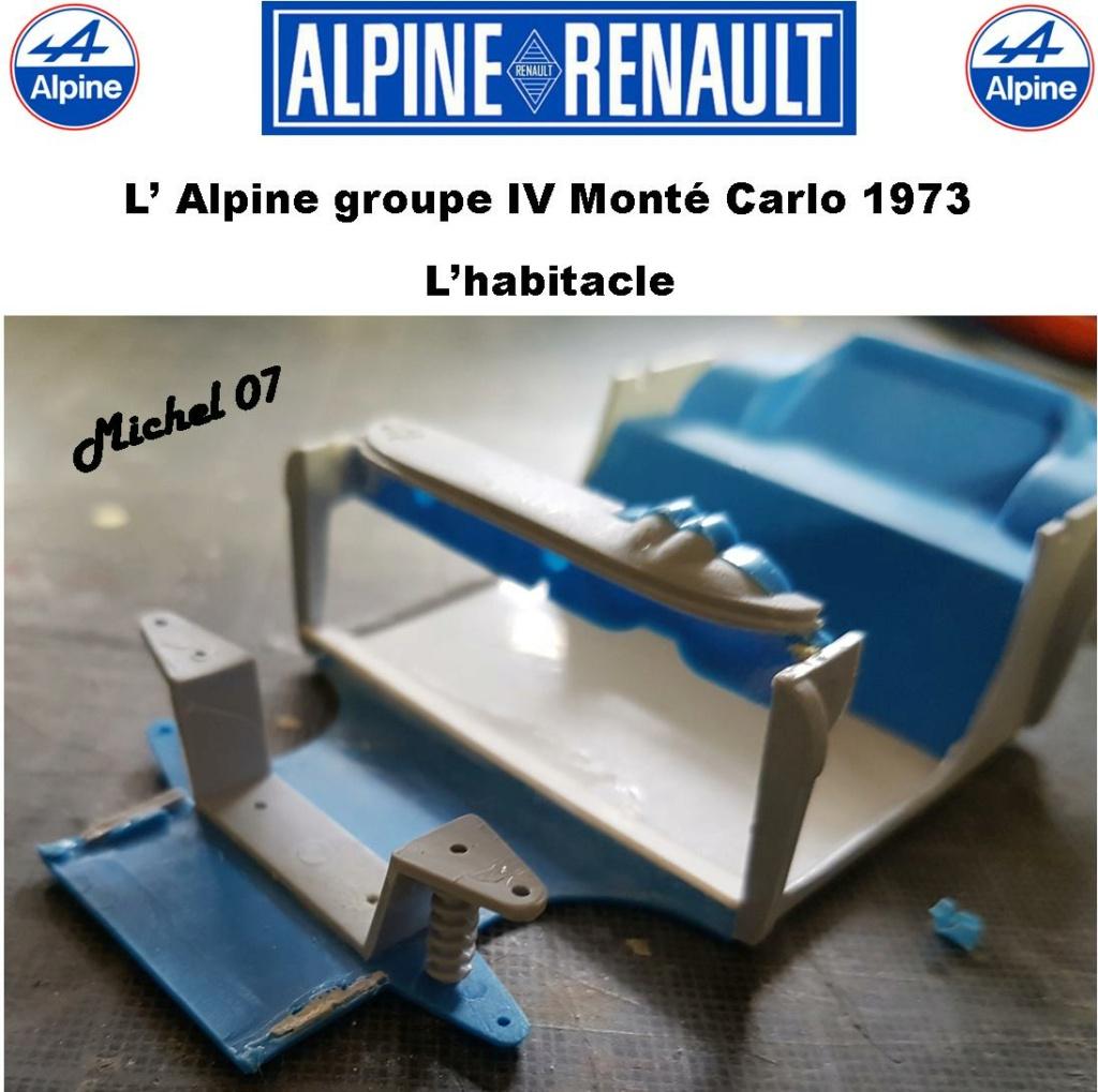 Fil rouge 2021 * Alpine A110 Groupe IV Monté Carlo 1973 1/24 Heller 80745 diorama assistance 15_210