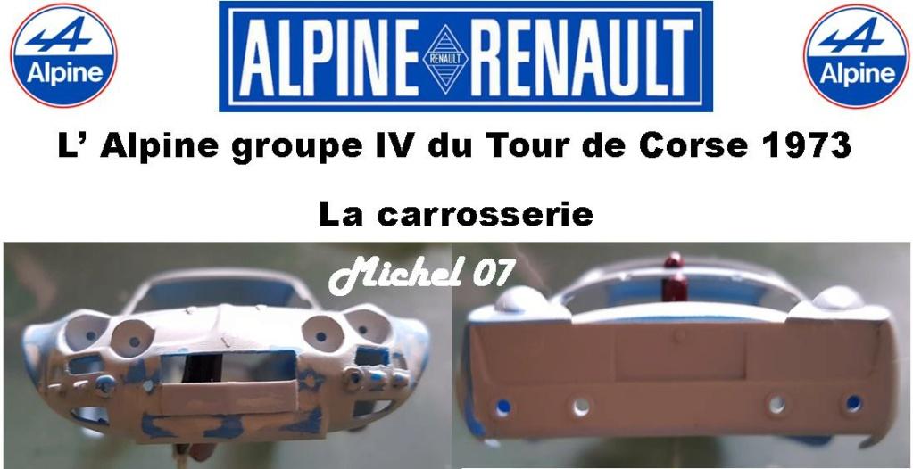 Fil rouge 2021 * Alpine A110 Groupe IV Tour de Corse 1973  1/24 Heller 80745  - Page 2 1615