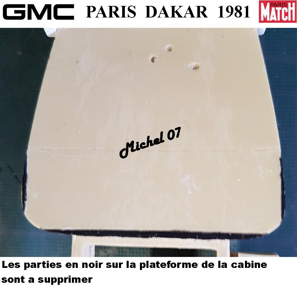 GMC CCKW Paris Dakar 1981 1/24 1616