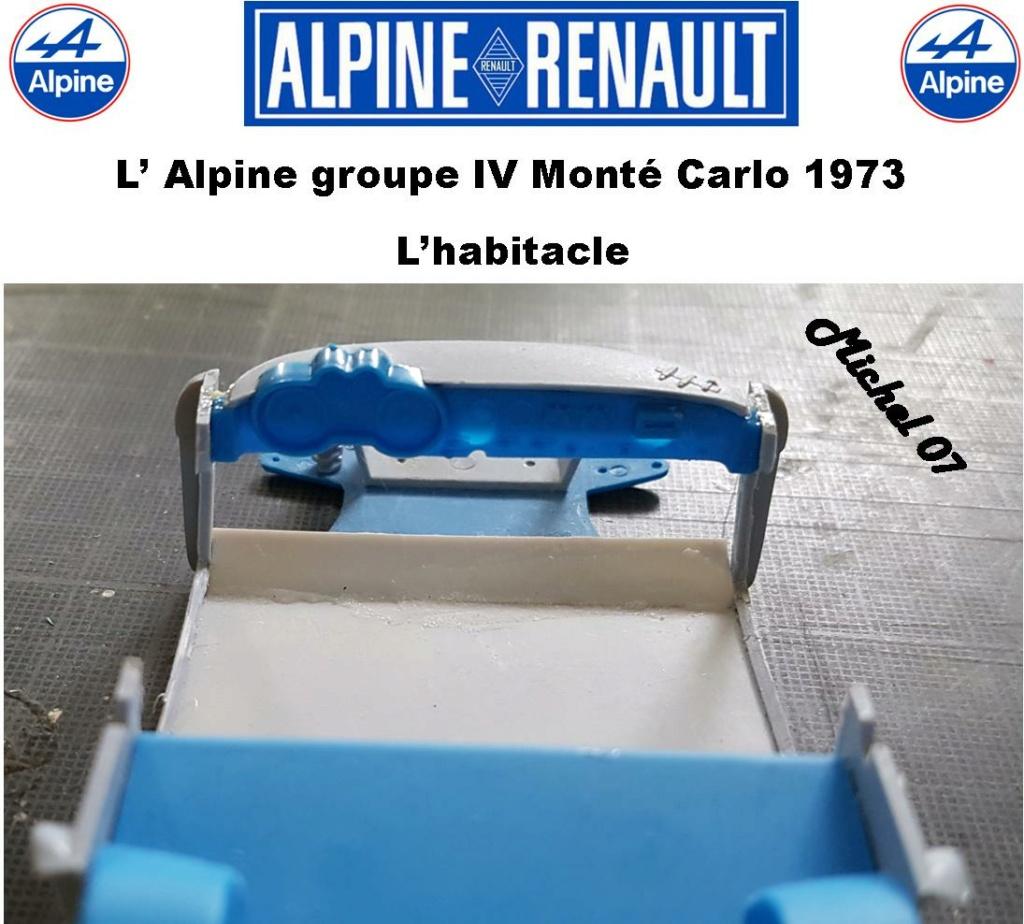 Fil rouge 2021 * Alpine A110 Groupe IV Monté Carlo 1973 1/24 Heller 80745 diorama assistance 16_210