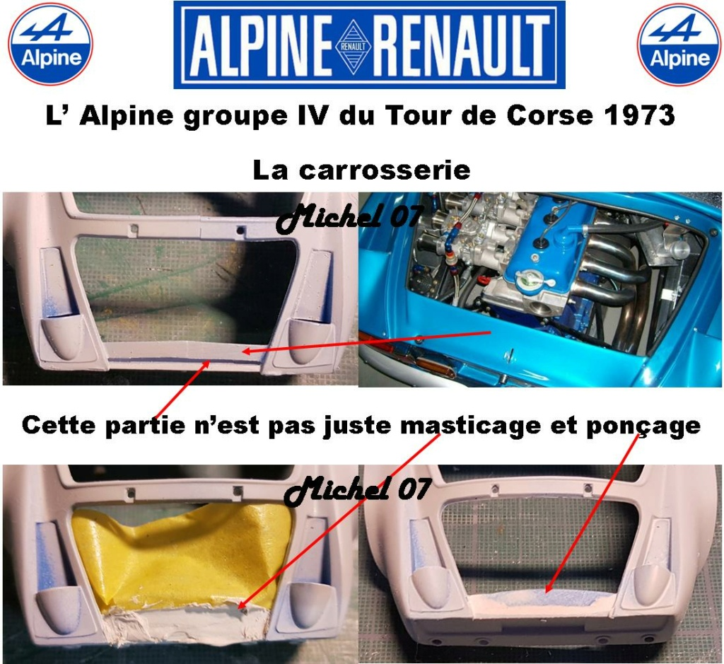 Fil rouge 2021 * Alpine A110 Groupe IV Tour de Corse 1973  1/24 Heller 80745  - Page 2 1715
