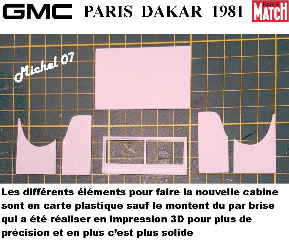 GMC CCKW Paris Dakar 1981 1/24 1716