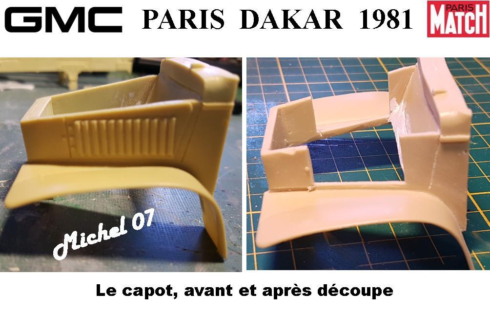 GMC CCKW Paris Dakar 1981 1/24 1816