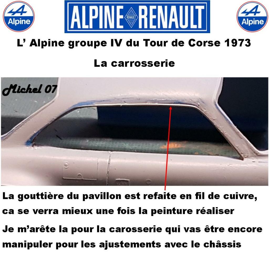 Fil rouge 2021 * Alpine A110 Groupe IV Tour de Corse 1973  1/24 Heller 80745  - Page 2 1915