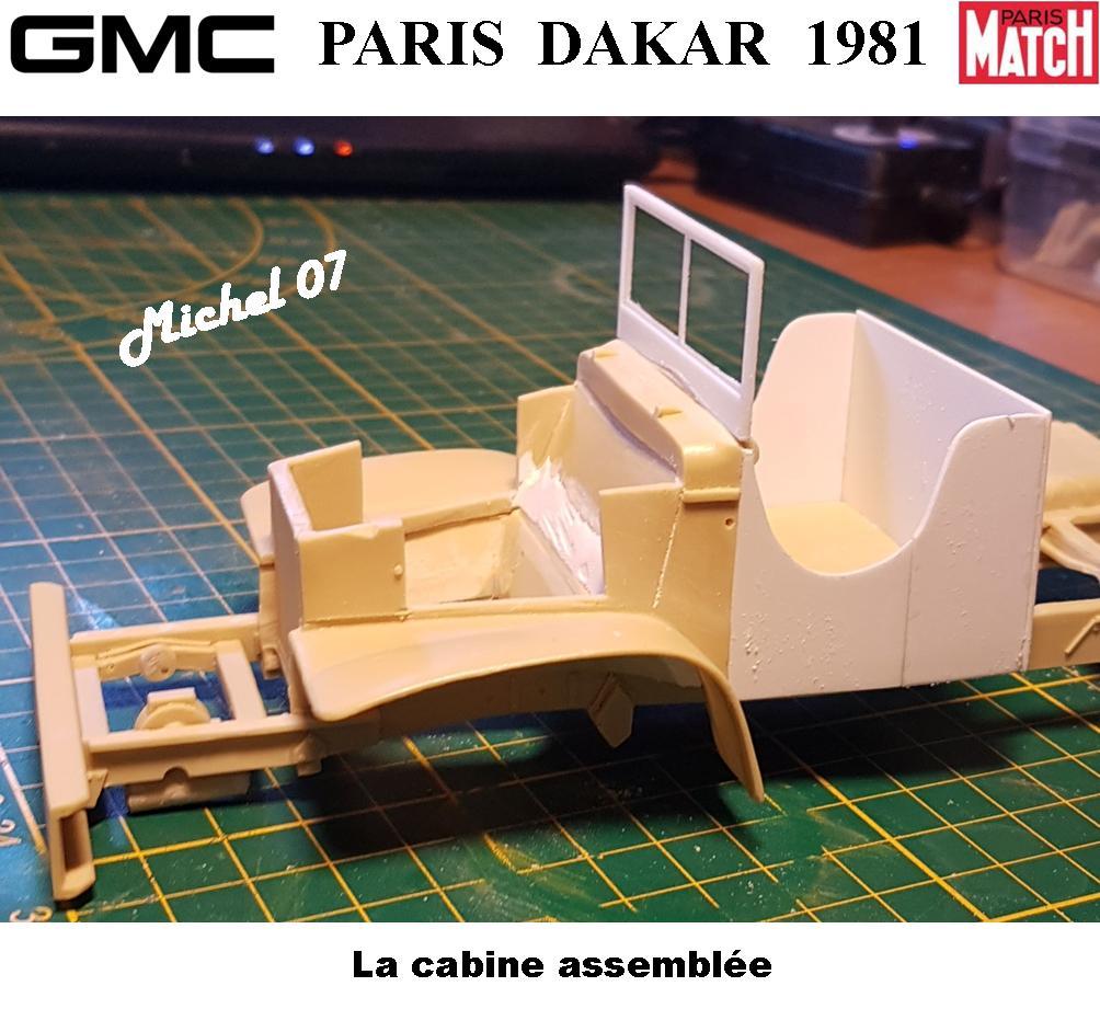GMC CCKW Paris Dakar 1981 1/24 1916