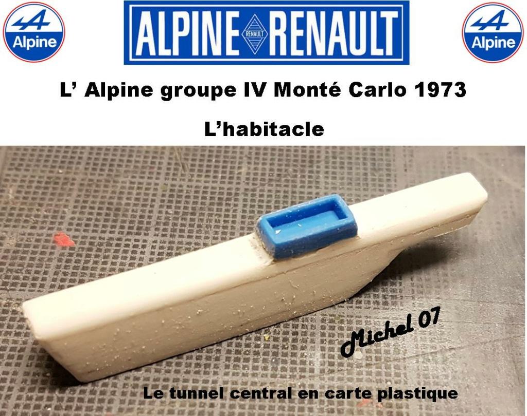 Fil rouge 2021 * Alpine A110 Groupe IV Monté Carlo 1973 1/24 Heller 80745 diorama assistance 19_210