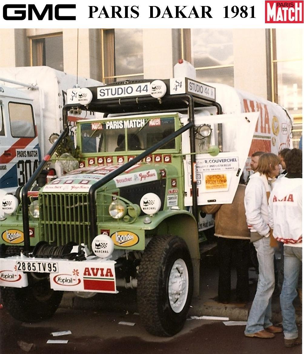 GMC CCKW Paris Dakar 1981 1/24 1_210