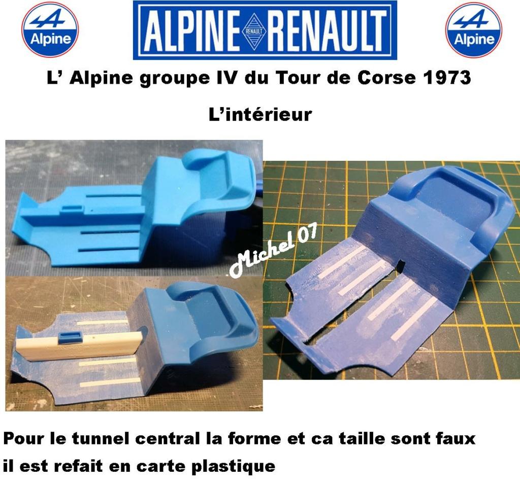 Fil rouge 2021 * Alpine A110 Groupe IV Tour de Corse 1973  1/24 Heller 80745  - Page 2 2016