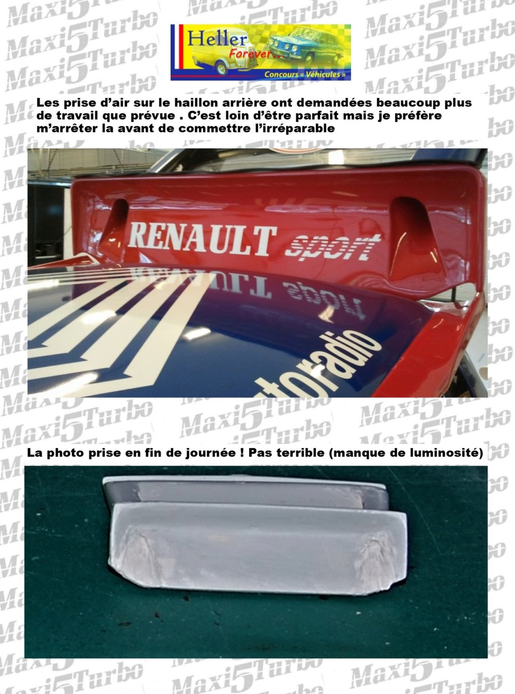 (1/24) Renault 5 Maxi turbo Ref 80717 ( Hors delai ) - Page 12 20610