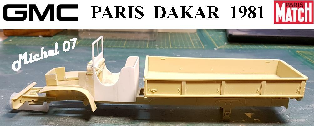 GMC CCKW Paris Dakar 1981 1/24 2116