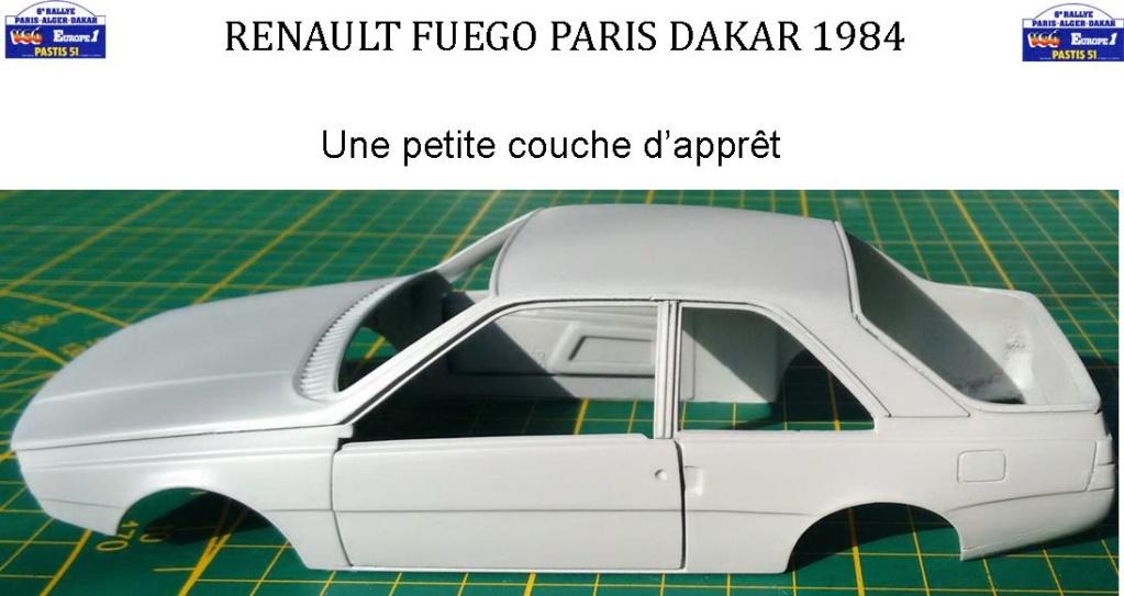 Défi 2020 - Renault Fuego 1/24 Paris Dakar 1984 - Page 3 2216