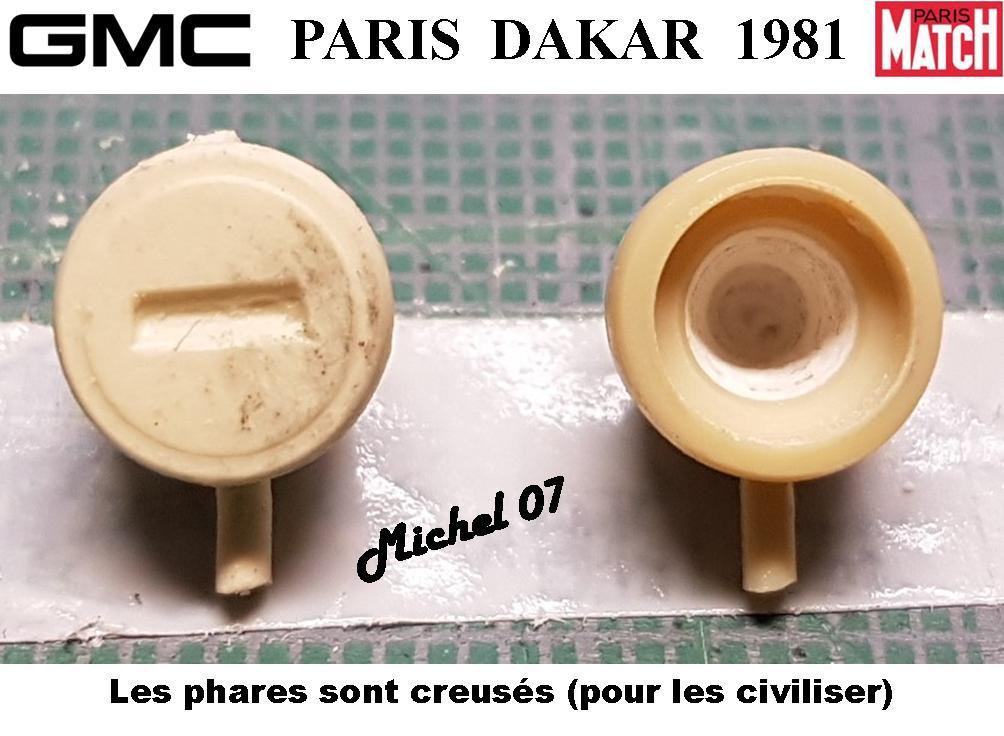 GMC CCKW Paris Dakar 1981 1/24 2218