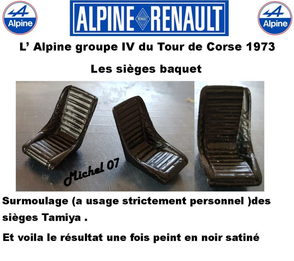 Fil rouge 2021 * Alpine A110 Groupe IV Tour de Corse 1973  1/24 Heller 80745  - Page 3 2220