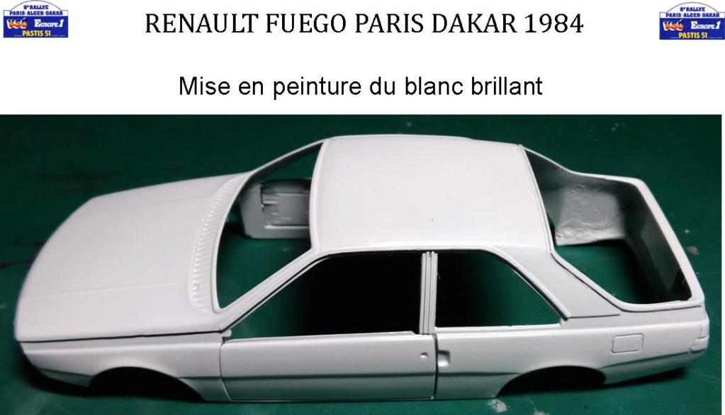 Défi 2020 - Renault Fuego 1/24 Paris Dakar 1984 - Page 3 2314