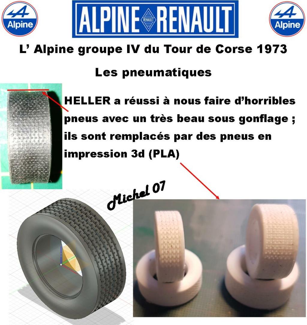Fil rouge 2021 * Alpine A110 Groupe IV Tour de Corse 1973  1/24 Heller 80745  - Page 3 2316