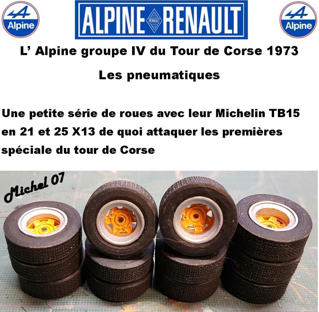 Fil rouge 2021 * Alpine A110 Groupe IV Tour de Corse 1973  1/24 Heller 80745  - Page 3 2417