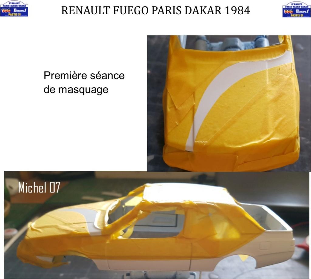 Défi 2020 - Renault Fuego 1/24 Paris Dakar 1984 - Page 3 2513