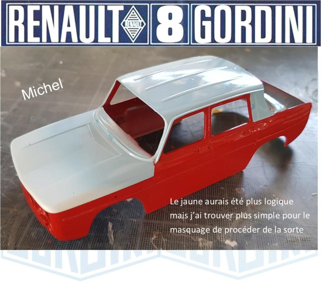 Trois Renault 8 gordini Heller 1/24 - Page 2 2515