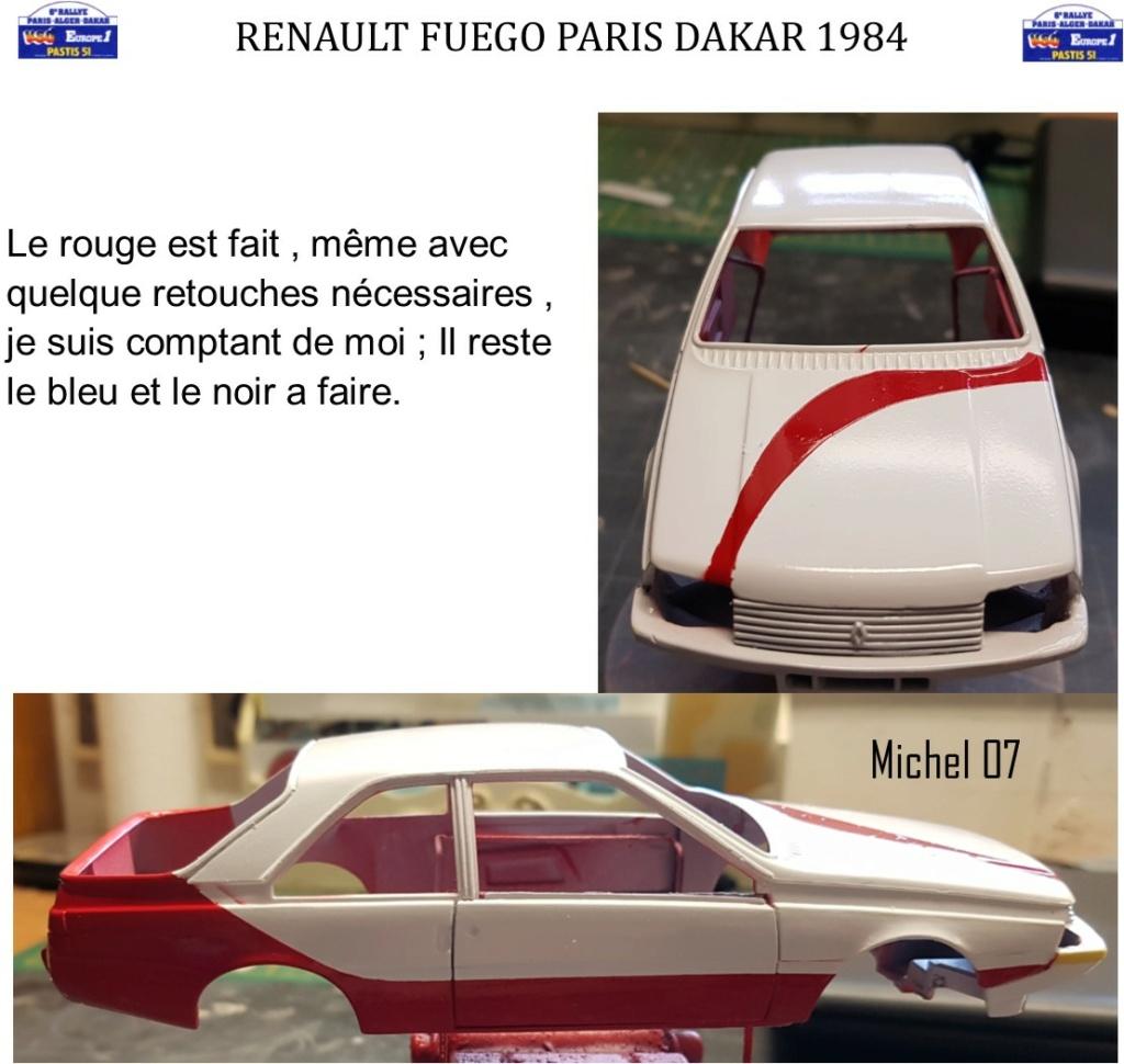 Défi 2020 - Renault Fuego 1/24 Paris Dakar 1984 - Page 3 2613