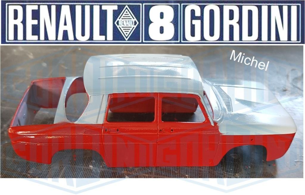 Trois Renault 8 gordini Heller 1/24 - Page 2 2615