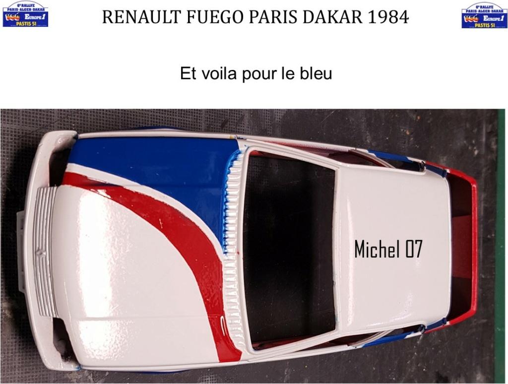 Défi 2020 - Renault Fuego 1/24 Paris Dakar 1984 - Page 3 2712