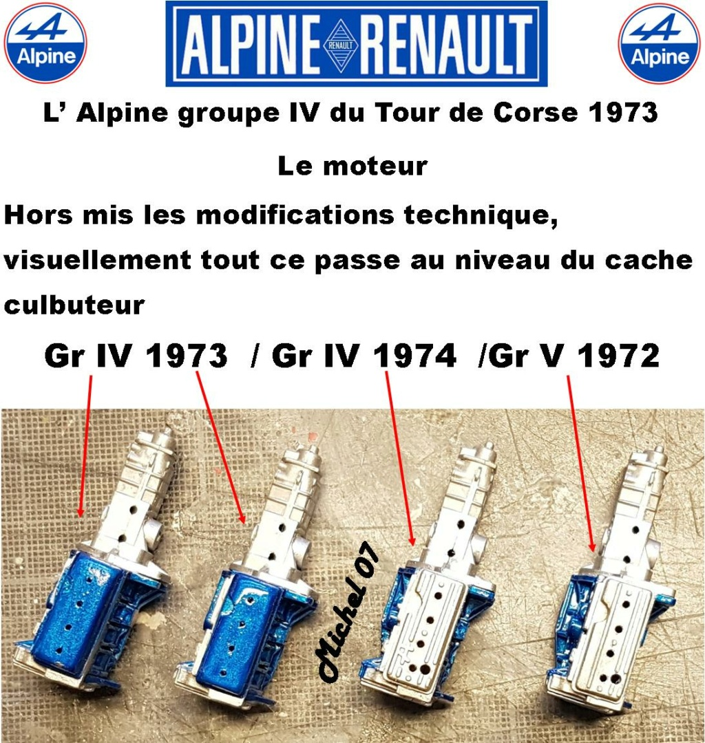Fil rouge 2021 * Alpine A110 Groupe IV Tour de Corse 1973  1/24 Heller 80745  - Page 3 2716