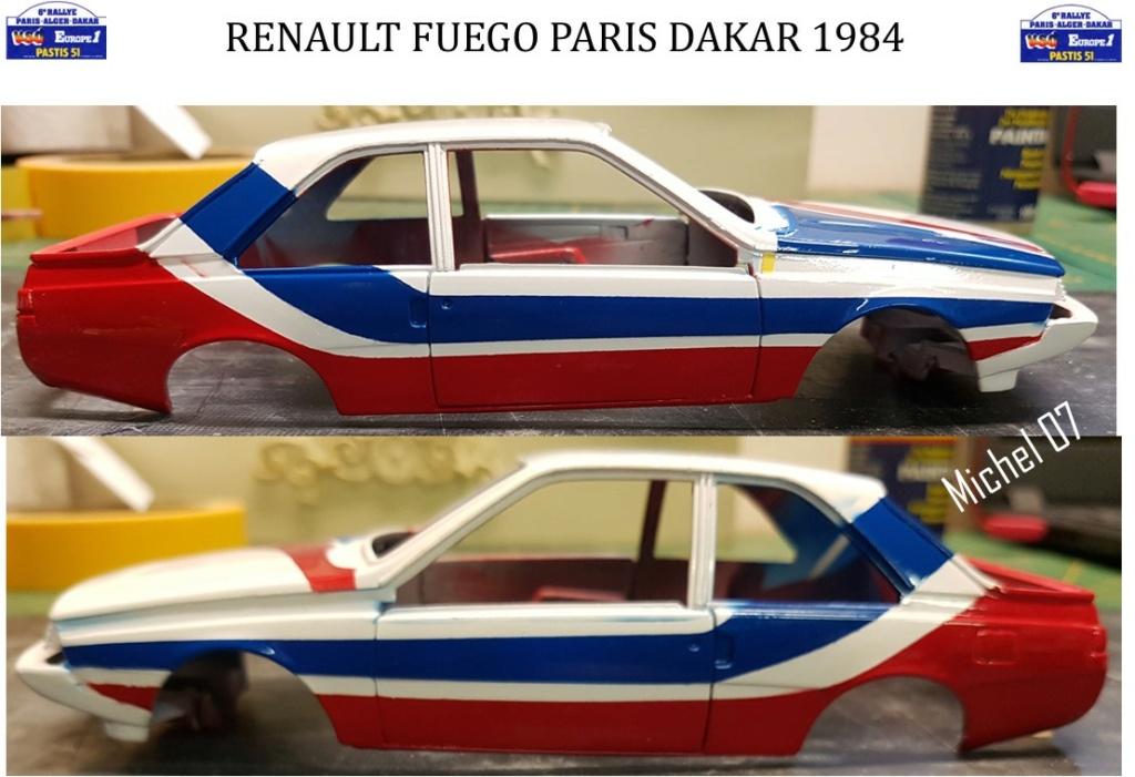 Défi 2020 - Renault Fuego 1/24 Paris Dakar 1984 - Page 3 2813