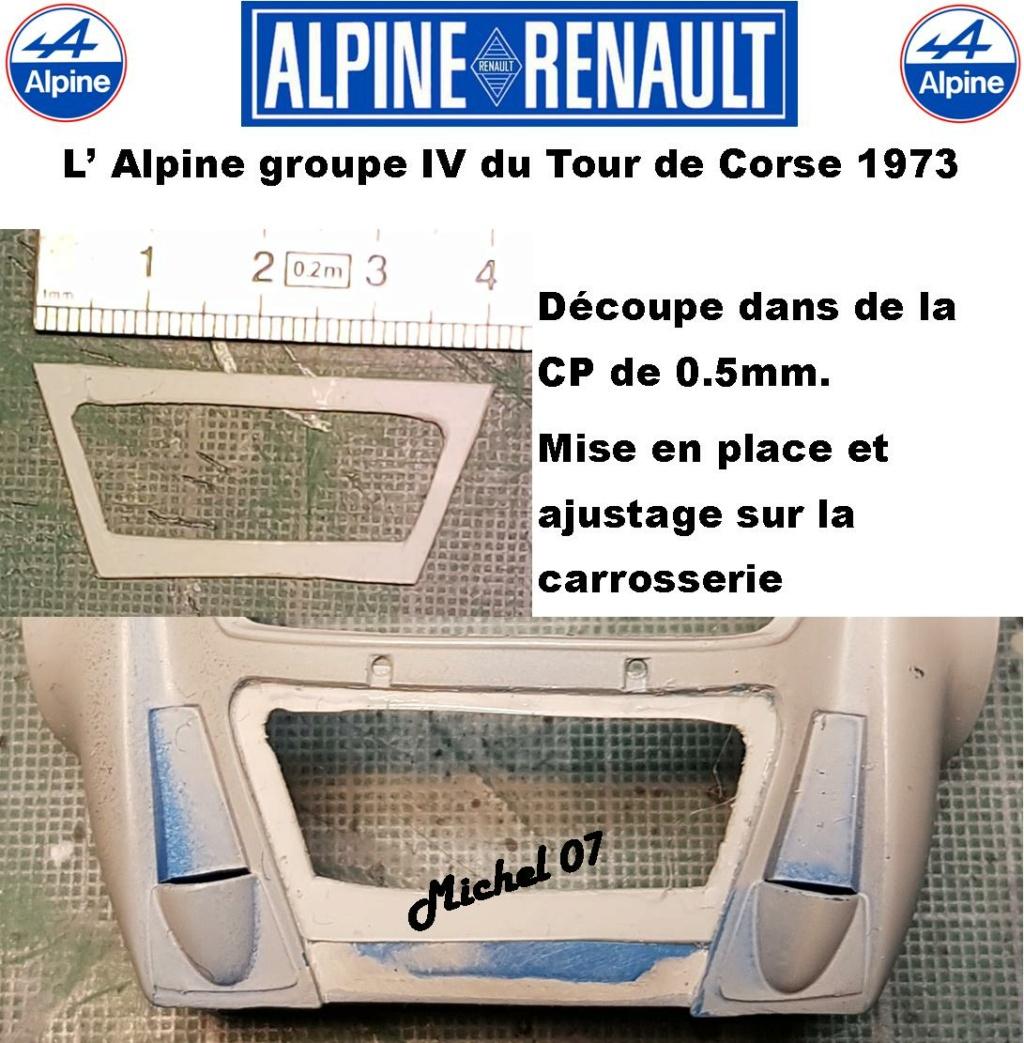 Fil rouge 2021 * Alpine A110 Groupe IV Tour de Corse 1973  1/24 Heller 80745  - Page 3 2817