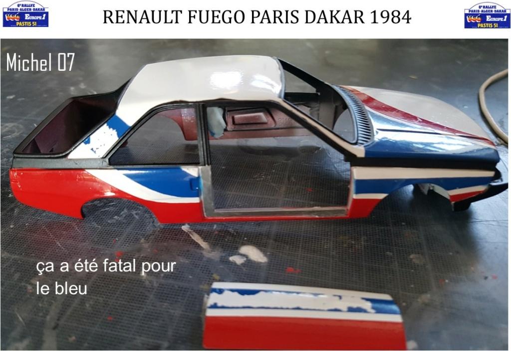 Défi 2020 - Renault Fuego 1/24 Paris Dakar 1984 - Page 3 3013