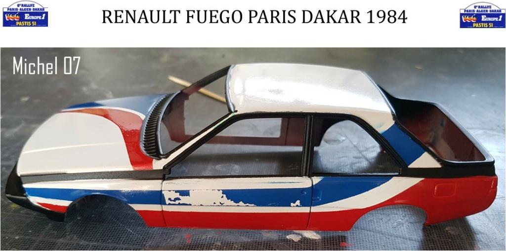 Défi 2020 - Renault Fuego 1/24 Paris Dakar 1984 - Page 3 3113