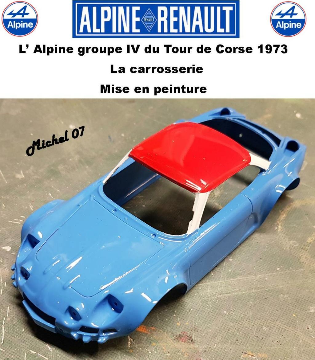 Fil rouge 2021 * Alpine A110 Groupe IV Tour de Corse 1973  1/24 Heller 80745  - Page 3 3116