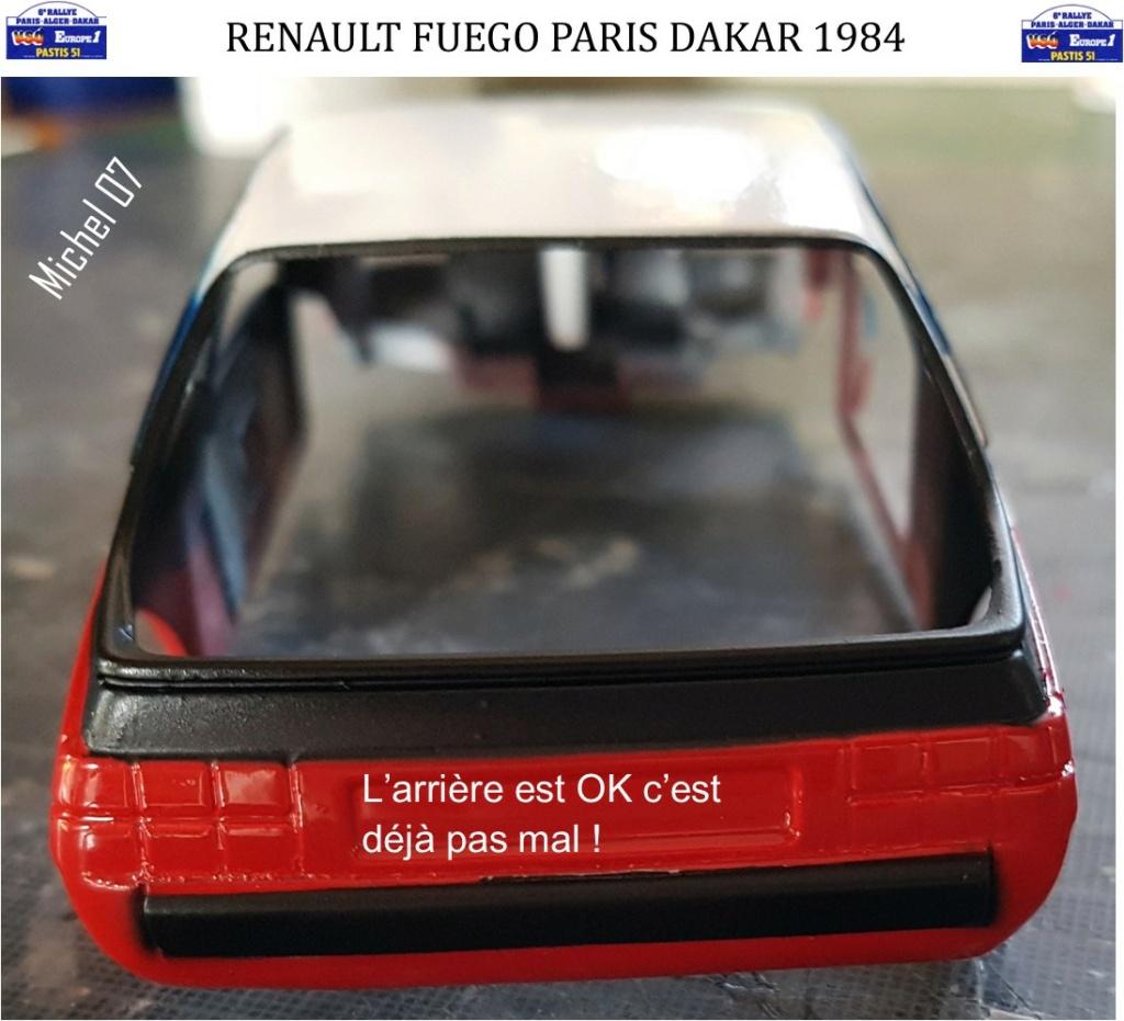 Défi 2020 - Renault Fuego 1/24 Paris Dakar 1984 - Page 3 3212