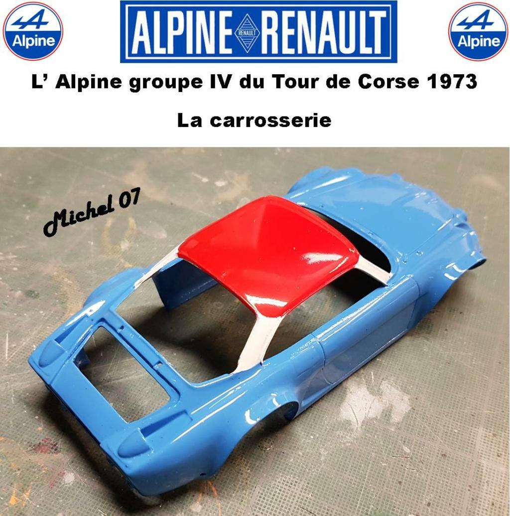 Fil rouge 2021 * Alpine A110 Groupe IV Tour de Corse 1973  1/24 Heller 80745  - Page 3 3215