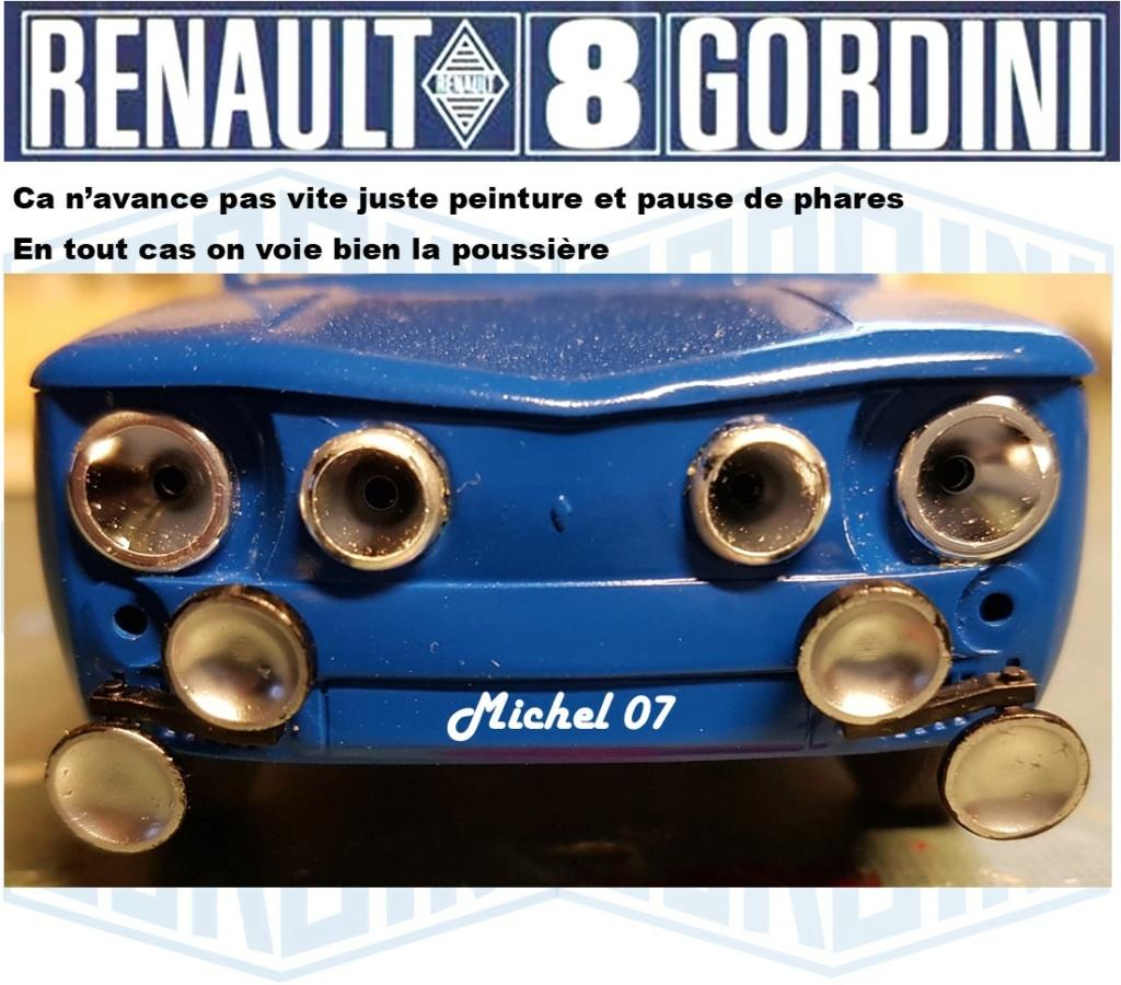 Trois Renault 8 gordini Heller 1/24 - Page 4 3814