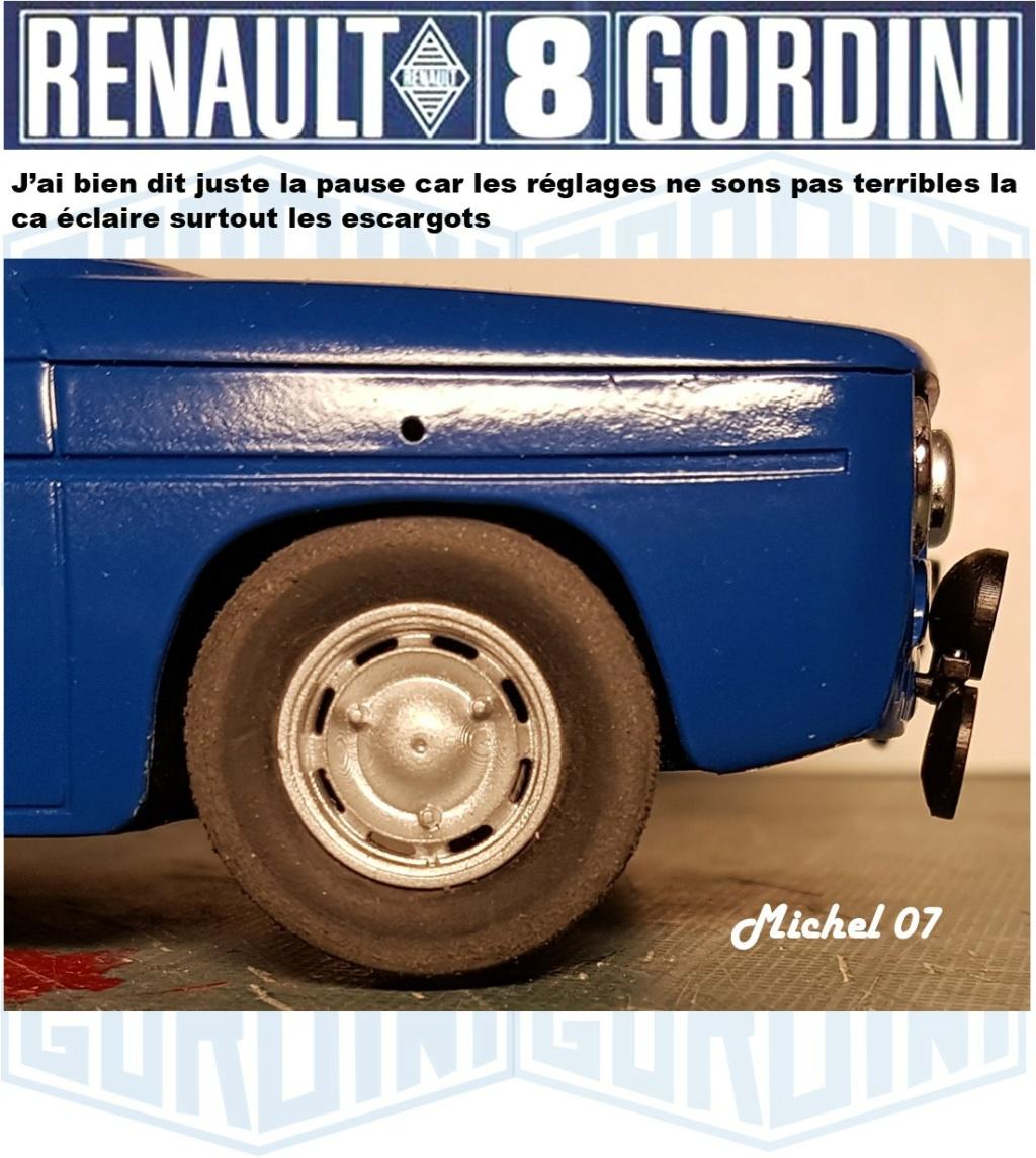 Trois Renault 8 gordini Heller 1/24 - Page 4 3915