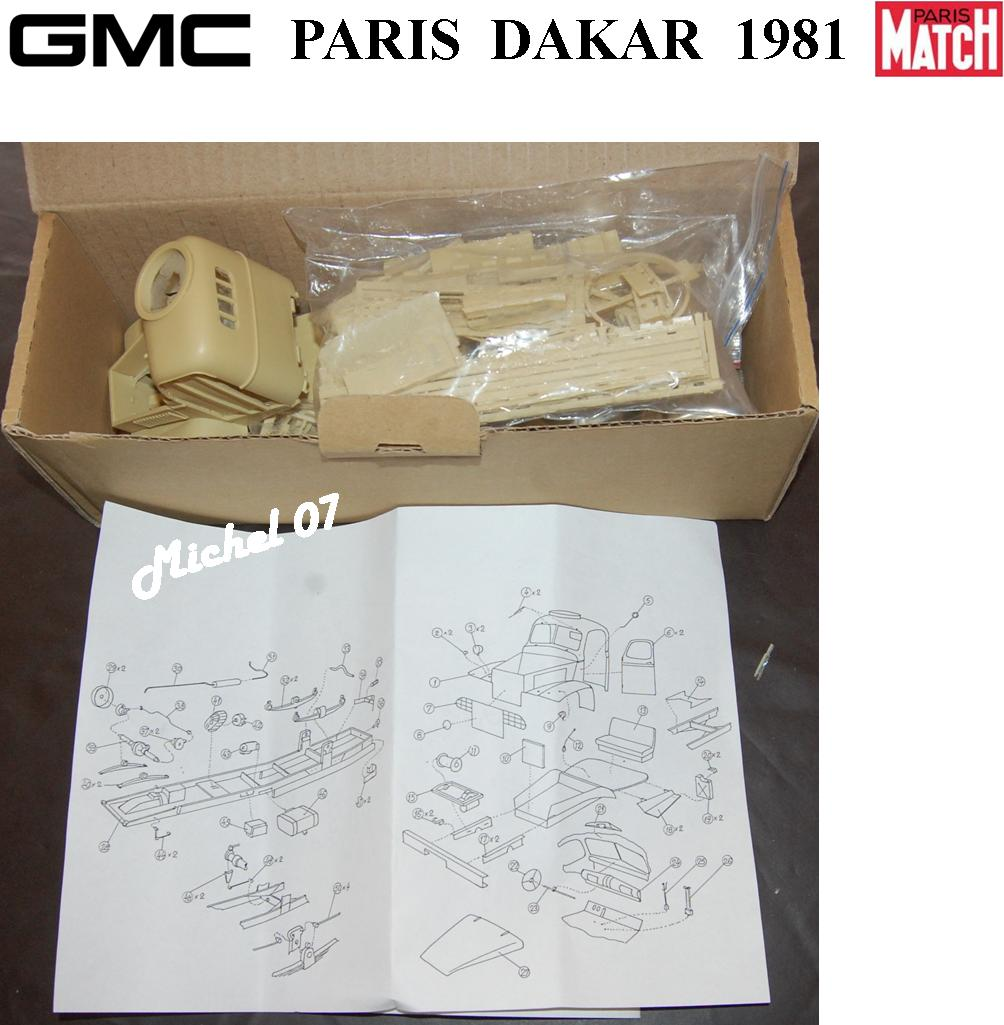 GMC CCKW Paris Dakar 1981 1/24 3_210