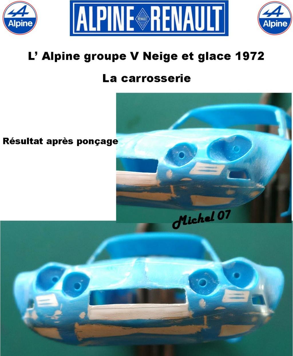 Fil rouge 2021 * Alpine A110 Groupe V Neige et glace 1972 1/24 Heller 80745 + scratch 3_211