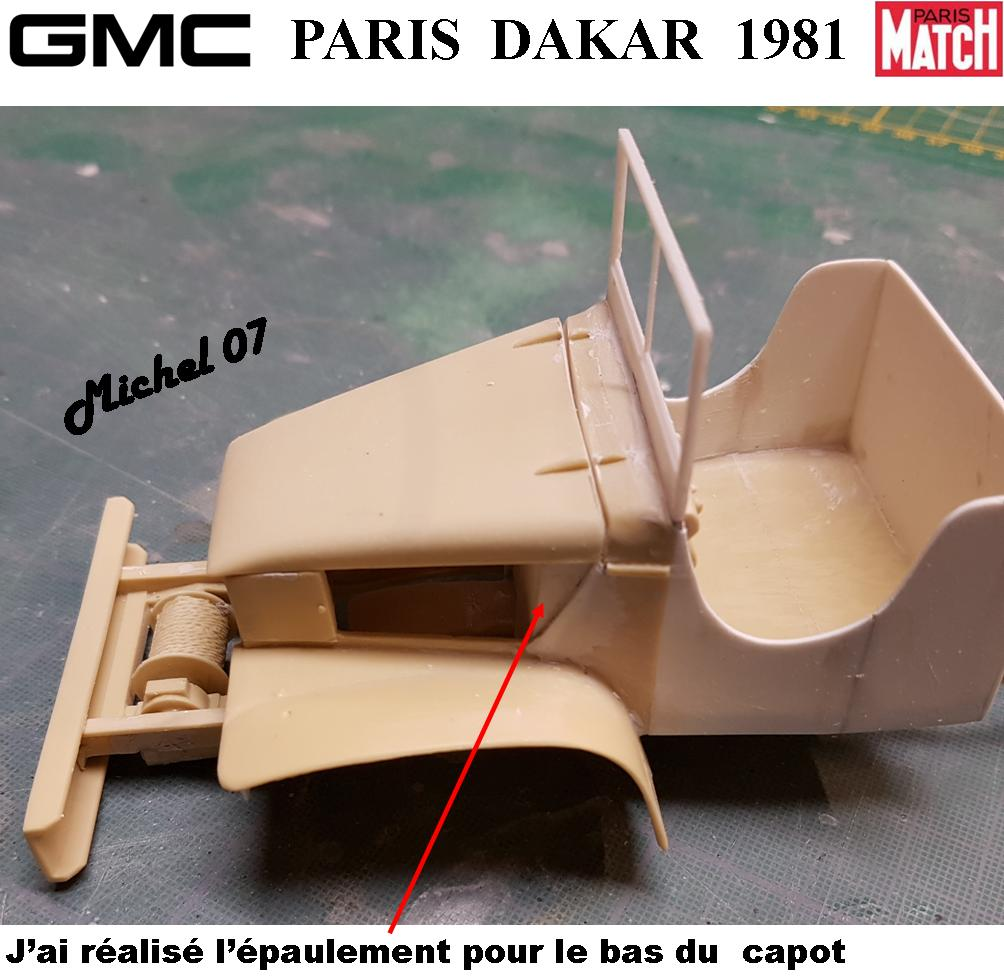 GMC CCKW Paris Dakar 1981 1/24 - Page 2 4015