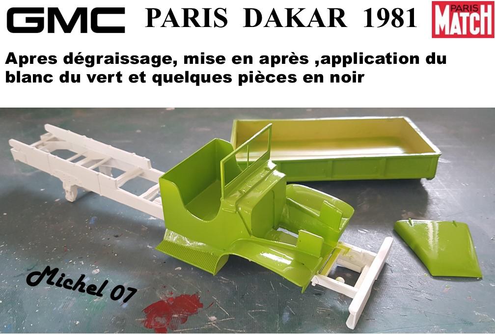 GMC CCKW Paris Dakar 1981 1/24 - Page 3 5512