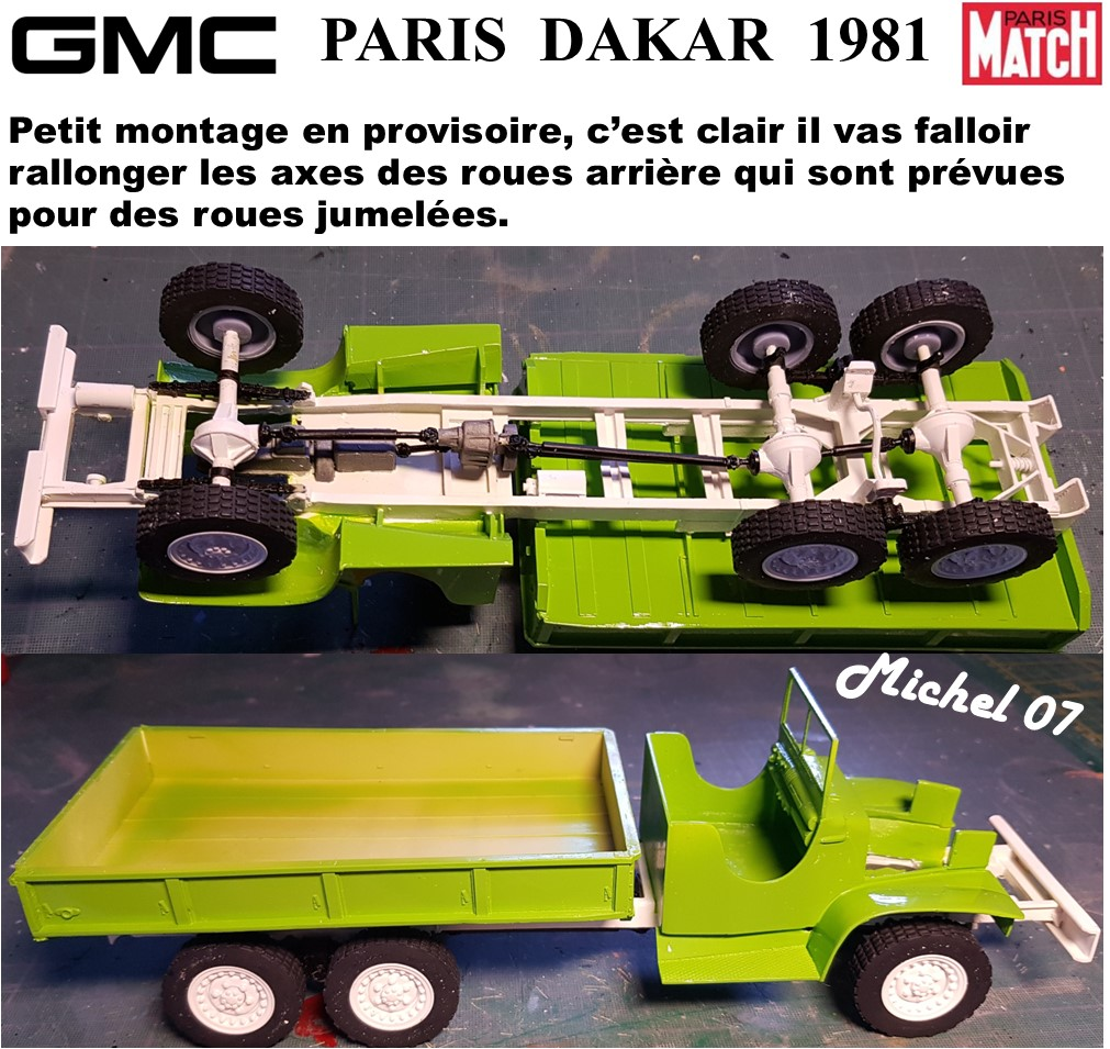 GMC CCKW Paris Dakar 1981 1/24 - Page 4 5914