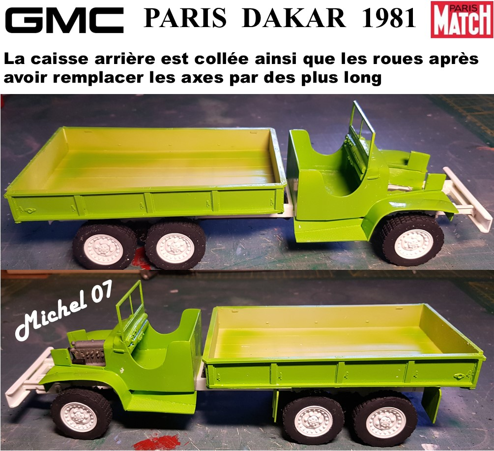 GMC CCKW Paris Dakar 1981 1/24 - Page 4 6312
