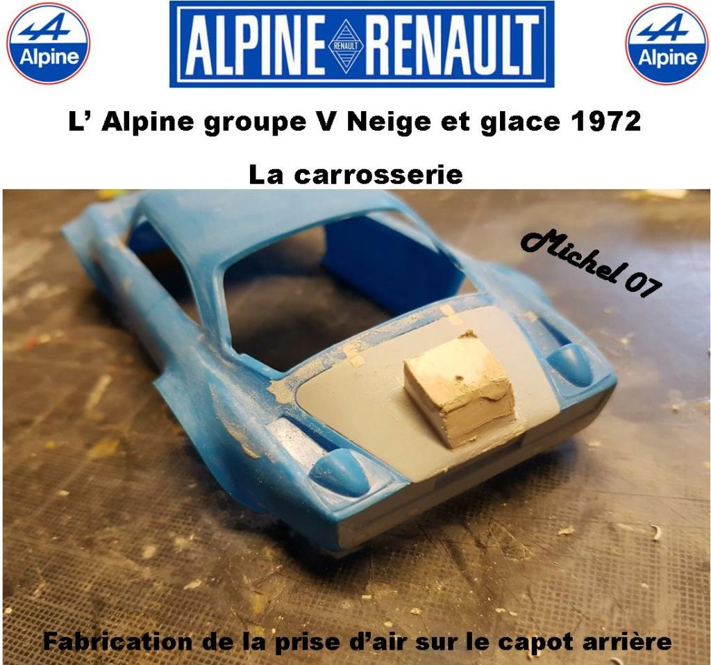 Fil rouge 2021 * Alpine A110 Groupe V Neige et glace 1972 1/24 Heller 80745 + scratch 6_211