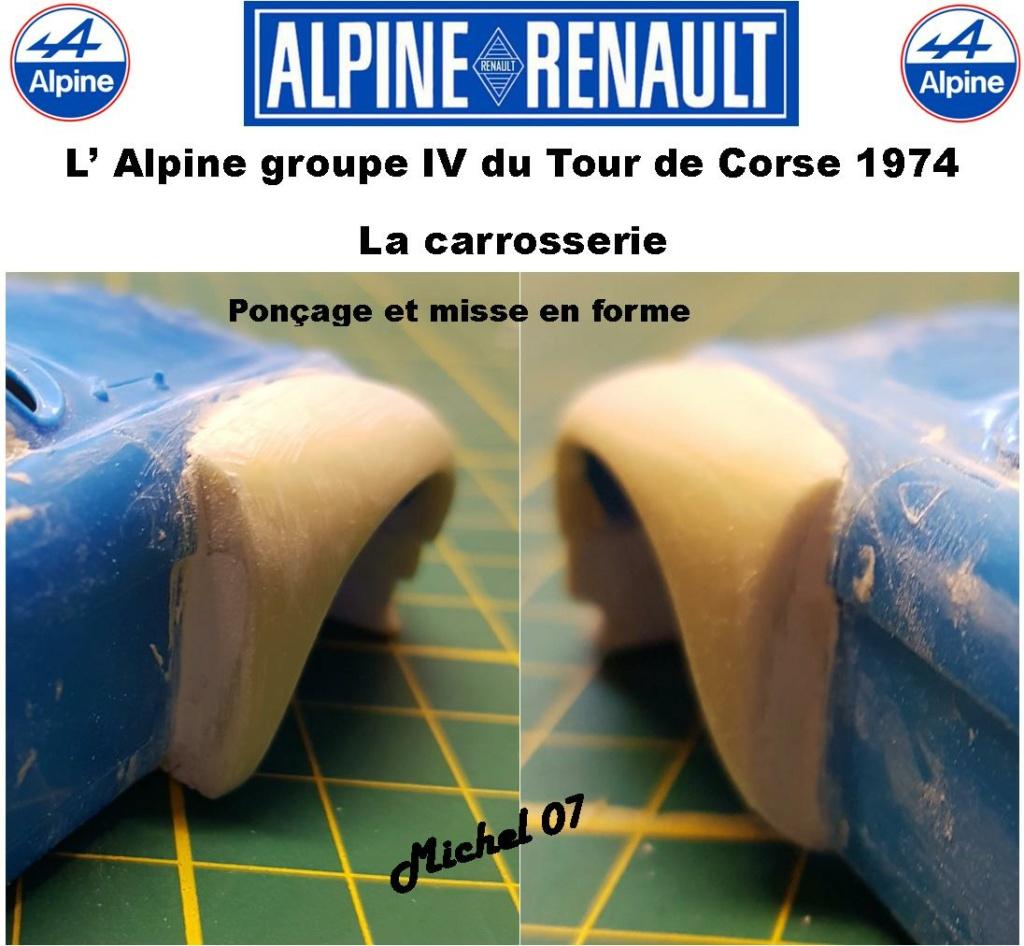 Fil rouge 2021 * Alpine A110 Groupe IV Tour de Corse 1974 1/24 Heller 80745 + transkit 813