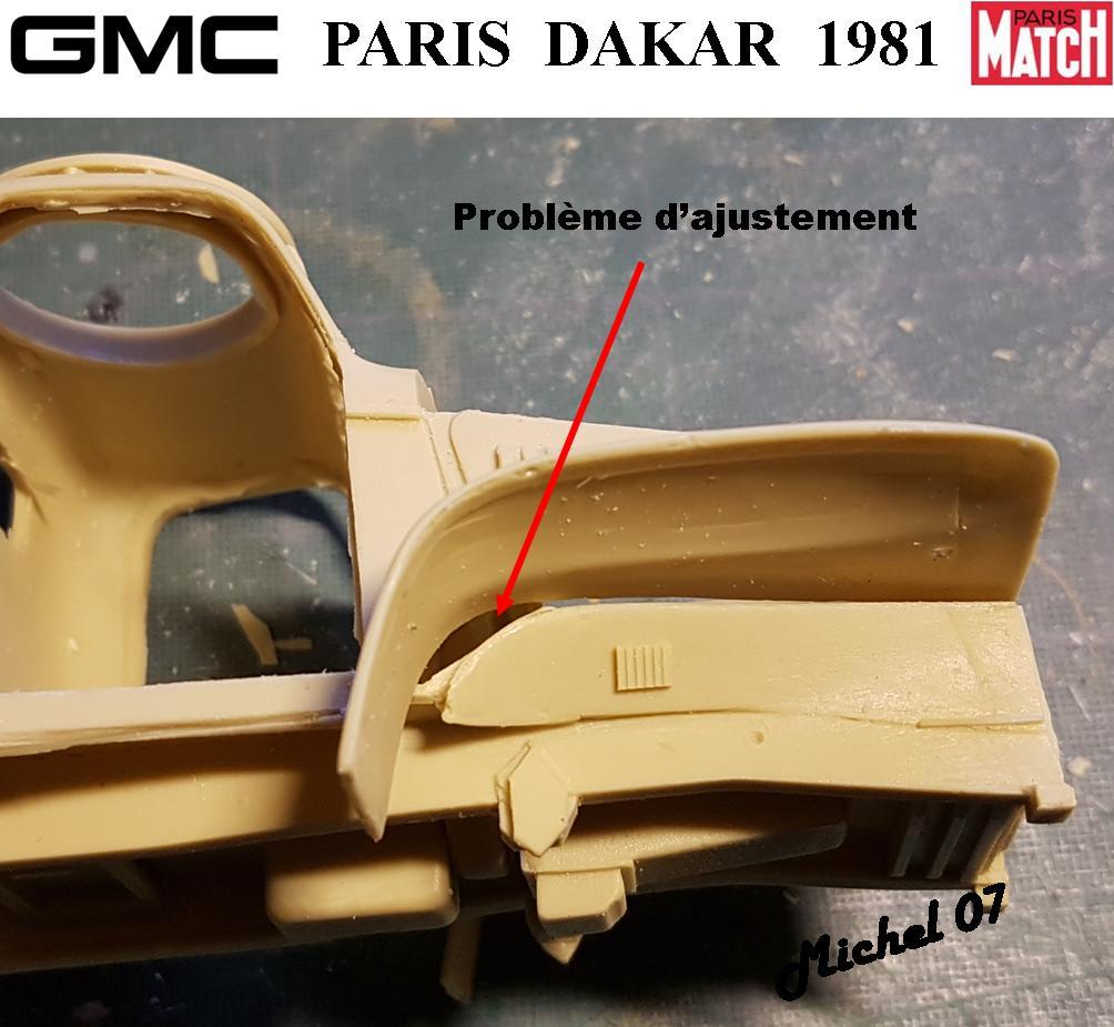 GMC CCKW Paris Dakar 1981 1/24 912