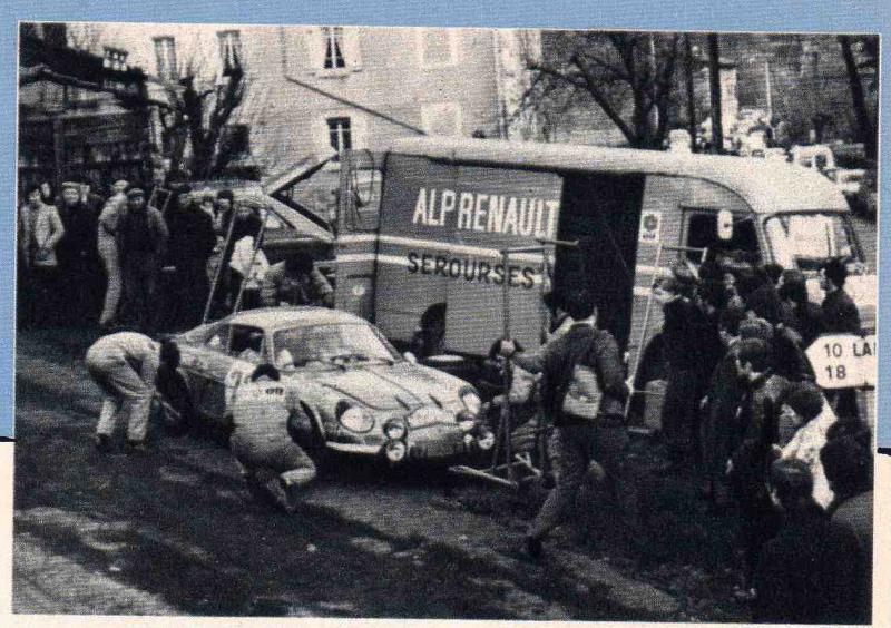Fil rouge 2021 * Alpine A110 Groupe IV Monté Carlo 1973 1/24 Heller 80745 diorama assistance Assist10